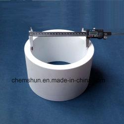 95% de óxido de alumínio de cerâmica de cerâmica do tubo de guarnição