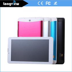 7-дюймовый Двухъядерный 3G WCDMA ОЗУ 512 МБ ROM 8ГБ ПЕРЕДНЕЙ ЧАСТИ ЗАДНЕГО 0.3MP 2,0 МП 1024*600 IPS Bluetooth планшетный ПК на базе Android