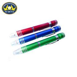 O LED em forma de caneta de fendas, Multifunções 6 em 1 fendas