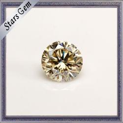 Alta Qualidade Certificada Glamour Moissanite Gemstone Luminoso