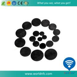 T5577 RFID Tag de lavandaria, Moeda de RFID Tag, etiqueta de disco de RFID