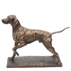 Statue de bronze Animal chien Gaeden Sculpture de métal pour la décoration