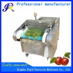 Cortadora de frutas vegetales comerciales de la máquina de corte