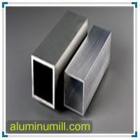 La norme ASTM B210 6063 Tube carré en aluminium
