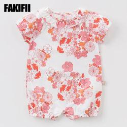 2021 Fakifii оптовая торговля детским износа моды одежда летний хлопок Romper детей трикотажные одежды