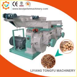 Manette de paille de riz de sciure de bois Husk granulés de bois Appuyez sur la machine