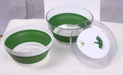 De multifunctionele Spinner van de Salade van het gemakkelijk-Gebruik Opvouwbare (TV0123)
