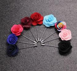 Comercio al por mayor parte hechos a mano tejido Artificial Flor Broche Lady