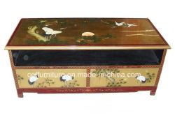 기중기 소나무 중국 래커 예술 빛 가구 텔레비젼 대