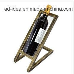 شاشة عرض معدنية متينة من النبيذ / حامل شاشة معدنية من النبيذ