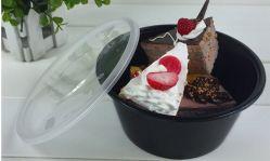 700cc y 1000cc alimentos Envase desechable de plástico transparente de la FDA/LFGB