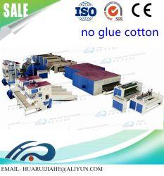 Tout d'alimentation définit la machine à faire de l'aiguille en nylon polyamide perforé/tissu non tissé pour les Mini-usine avec un faible coût Resinated Feutres matériau isolant thermique