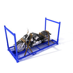 De Verschepende Pallet van de Motorfiets van de Pallet van de Motorfiets van het metaal
