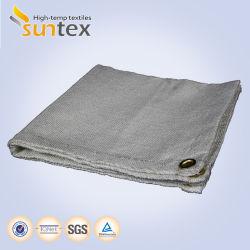 Temperatura Alta pano de fibra de Cobertores para soldadura e corte