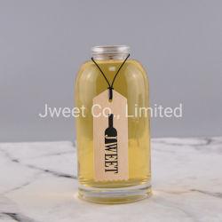 375ml ronde des bouteilles de vin en verre de gros Jar