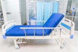 病院 ABS 手動ダブルシェイク 2 機能看護ベッド