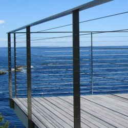 IDL의 새로운 디자인 실외 발코니 스테인리스 스틸 데크 텐셔너 케이블 Balrustrade Terrace 난간 정원 난소 디자인
