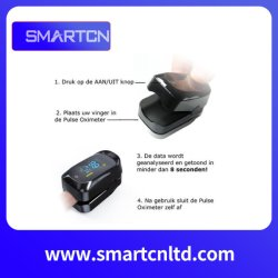 Des fournitures médicales de la SpO2 afficheur OLED Portable Portable Bluetooth oxymètre de pouls de poignet Watch