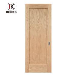 内部カシのSliderailのドアの純木の内部ドアのシェーカー様式の納屋の大戸