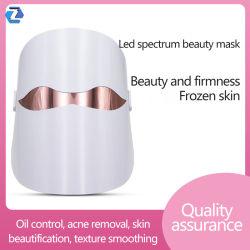 Nuevo LED fototerapia espectrómetro de máscara de piel fotónicos Micro-Electro-terrestre instrumento licitación siete instrumentos de la belleza de la luz de color