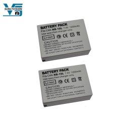 per la batteria di Canon Sx40 Sx50 Sx60 HS Nb-10L Nb10L