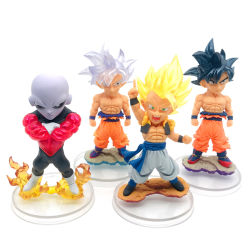 Custom 3D O PVC Dragon Ball Cartoon Modelo figura de acção de plástico