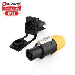 El poder en Powercon-Locking 3 Pin conector de alimentación cable