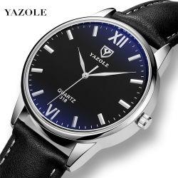 Horloge à quartz Yazole 318 mâle Hodinky les montres à quartz