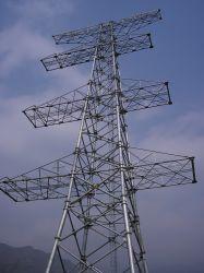 De Toren van de Pijp van het Staal van de Transmissie van de macht