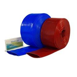 Les mines de poids lourds Wear-Resistant durable en PVC haute pression à plat flexible de décharge de l'eau