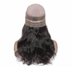 熱い販売の100%のブラジルの人間の毛髪の完全なレースのかつら