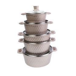 10 ПК цвета шампанского повредить антипригарное покрытие посуда для приготовления пищи,