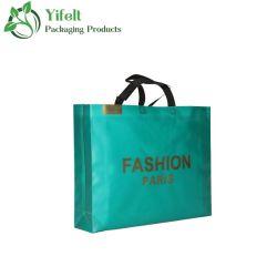 سعر توريد الجملة المصنع الشعار المخصص تصميم بالجملة PP قابل للتحلل الحيوي حقيبة تسوق غير منسوجة حقيبة تغليف الهدايا