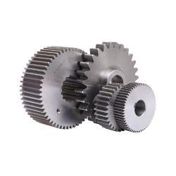 Steel Metal Réduction de la transmission de roue de la machine de précision personnalisé l'arbre de pignon du démarreur la cannelure de l'entraînement planétaire de l'engrenage cylindrique