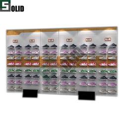 Scarpe Abbigliamento Abbigliamento Abbigliamento da esposizione Shelf Custom Produttore Brand Sport Rack per esposizione per negozi Stand Wall Display Abbigliamento Design del negozio Mobili Boutique