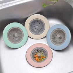 Silikon-Küche-Wannen-Grobfilter-Wannen-Abfluss-Fangfederblech-Stecker
