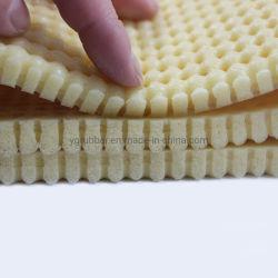 rilievo di gomma piuma del silicone di 6mm/strato perforati a temperatura elevata beige