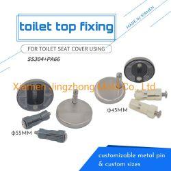 Toiletten-Weiche-Abschluss-Sitzdeckel-Toiletten-Scharnier-Toiletten-Oberseite-Festlegung