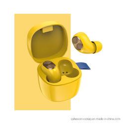 Auricular Bluetooth de TWS, Amarillo, accesorios móvil inteligente