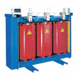 10kv/6kv tipo seco transformadores de distribución de aleación amorfa
