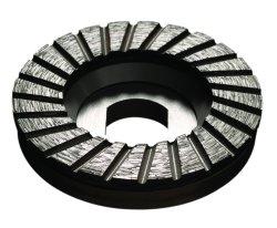 Mola della tazza del diamante di velocità veloce di segmento del Turbo per il pavimento di pietra che frantuma e che lucida