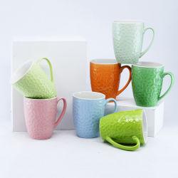 كوب قهوة/ كوب قهوة/ كوب خزفي مع هدايا أو عروض ترويجية أو استخدام يومي والبيع المباشر في المصنع وقبول شعار الطباعة المخصص