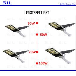 Hot Sales LED Solar Street Light 30 watt Hoge kleurverdeling En op afstand bediende LED-straatverlichting