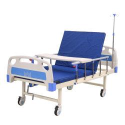 Muebles de Hospital Manual Manivela UCI médica del paciente en casa la cama de cuidados de enfermería
