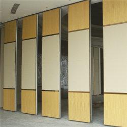Sala de correderas de madera Fabricante de acústica tabique móvil
