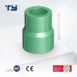 تقليل قارنة التوصيل عالية الجودة لتركيب أنبوب PPR للبرودة و المياه الساخنة العلامات التجارية الخضراء قائمة أسعار البلاستيك المصنعين الجودة