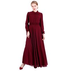 Abaya negro vestido de mujer musulmana al por mayor ropa islámica
