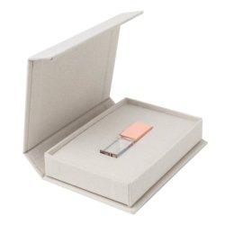 المفضلة الجديدة الرائعة لأقمشة المجوهرات الفاخرة فلاش محرك USB هدية مربع 16 جيجا بايت