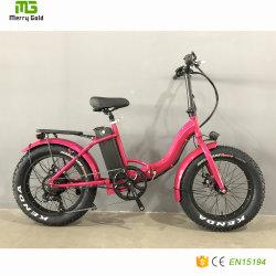 2019 высокое качество воздуха в шинах жира складной электрический велосипед для женщин