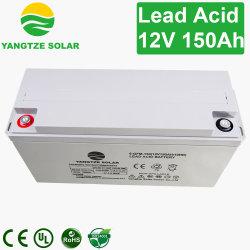 Batteria dell'a cristallo di cavo dell'invertitore del comitato solare del Yangtze 12V 150ah